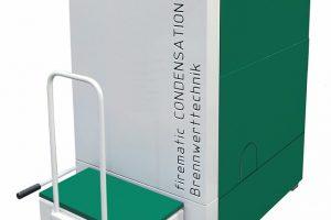 """Die Hackgut-Brennwertkessel sind nach Herstellerangaben erstmals in der Lage, zusätzlich die im Abgas enthaltene, """"latente"""" Wärme zu nutzen. Bild: Herz-Energietechnik"""