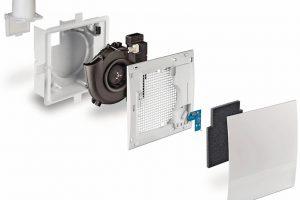 Kellerlüftung mit integrierter Taupunktüberwachung. Bild: Lunos
