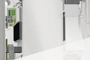 Lüftungsgeräte-Serie mit Passivhaus-Zertifizierung. Bild: Meltem