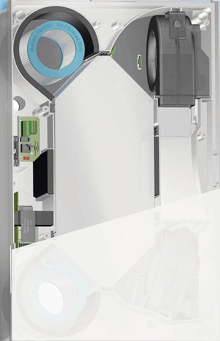 Lüftungsgeräte-Serie mit Passivhaus-Zertifizierung