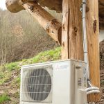 Jede Berghütte verfügt über eine separate flüsterleise Klimaanlage, sodass der Klimakomfort für jeden Gast individuell einstellbar ist. Bild: Mitsubishi Electric