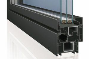 Schaubild: Fenster mit Dreifachverglasung, Deceuninck
