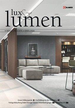 """Zeitschrift """"Lux & Lumen"""", Cover"""