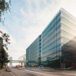 Forschungs- und Laborgebäude Biomedicum in Stockholm von C.F. Møller Architects, Außenansicht