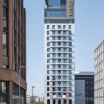 25hours Hotel Das Tour in Düsseldorf von HPP Architekten - Gesamtansicht