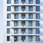Balkone am 25hours Hotel Das Tour in Düsseldorf von HPP Architekten