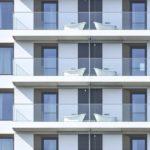 Balkone mit freistehenden Badewannen am 25hours Hotel Das Tour in Düsseldorf von HPP Architekten