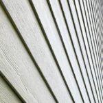 Leichte Fassadenpaneele aus Faserzement.