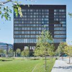 Fassade der Fachhochschule in Muttenz von pool Architekten