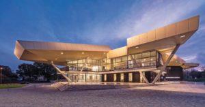 Die Musikschule in Ventspils wurde neu gebaut mit u.a. dezentraler Lüftung. Bilder: Adam Mork, Copenhagen, Dänemark