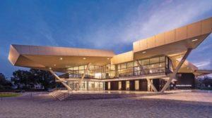 Neubau einer Musikschule in Ventspils in Lettland