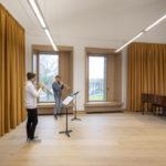 Frischluft (dezentrale Lüftung) in einer Musikschule in Ventspils in Lettland
