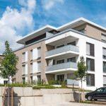 Großzügige Balkone werten die neuen Wohnungen auf. Bilder: Schöck Bauteile GmbH