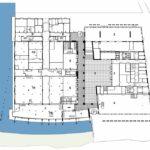 Grundriss Erdgeschoss mit Atrium (1). Zeichnung: Neutelings Riedijk Architects