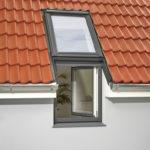 Doppelteiliges Dachfenster, Velux