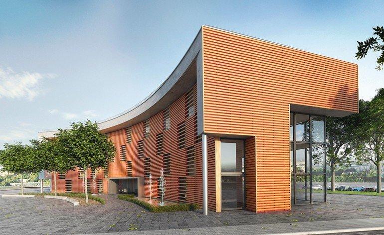 Fassadenbahn: Neue Ästhetik für offene Fassaden
