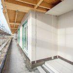 Gipsfaser-Platten wurden auch für die Außenwandkonstruktion des aufgesetzten Dachgeschosses eingesetzt. Bild: Fermacell