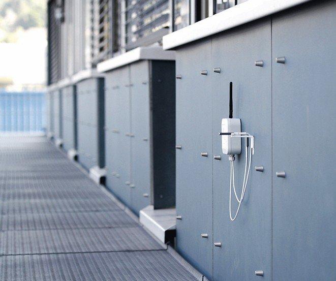 Sanierung und Neubau erfordern U-Wert-Messungen: Das Go Mess-System (Goms) ist ein cloud-basiertes, kabelloses System für Messungen nach ISO Norm 9869. Bild: Green TEG AG