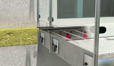 Die HIT Iso-Elemente von Halfen zur thermischen Trennung auskragender Bauteile sorgen für eine optimale Wärmedämmung und fungieren zugleich als Brandriegel.