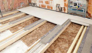 Bodensystem für Holzbalkendecken