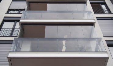 Balkonverglasung. Bild: Lumon