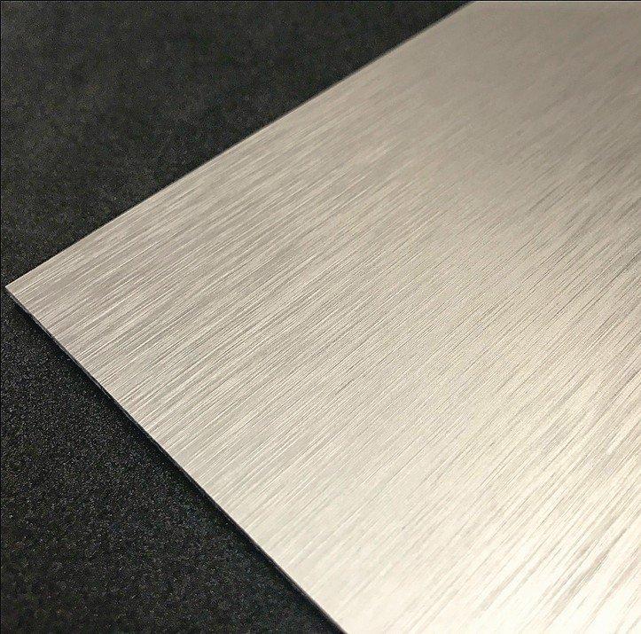 Aluminium mit der Optik von Edelstahl