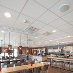 Lehr- und Versuchsküche mit Restaurantbereich. Bild: Owa