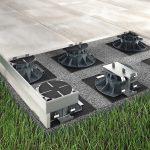 Terrassen und Balkone profitieren vom Stelz- und Plattenlager-System. Bild: Proline Systems