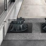 Verstellbare Terrassenstützen. Bild: Proline Systems