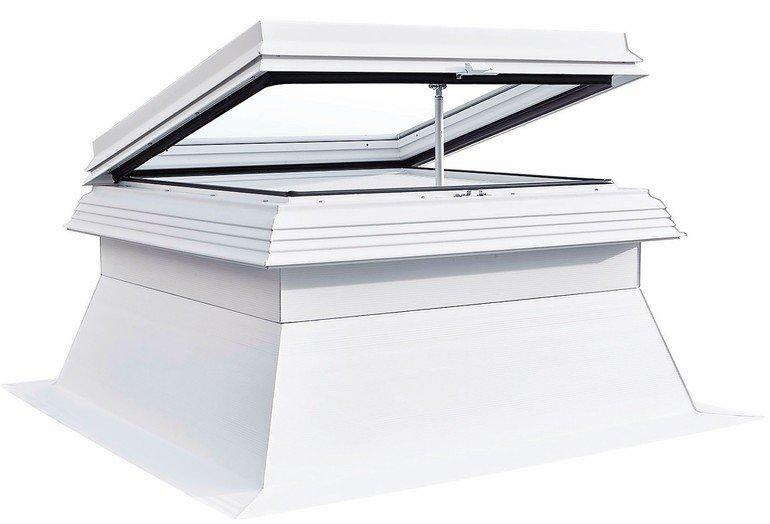 Mehr Tageslicht: Flachdachfenster mit Echtglas für Neubau und Bestand