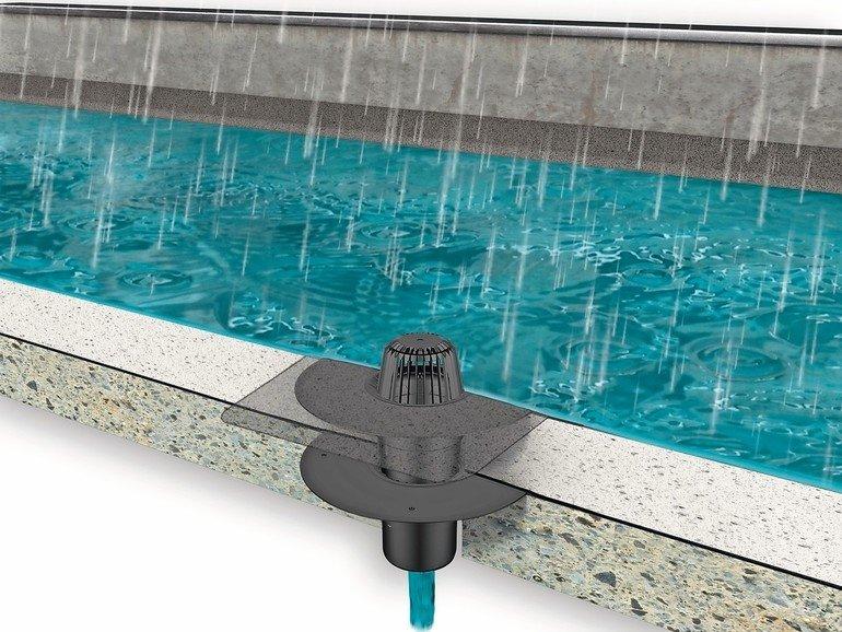 Flachdach: Entwässerungsplanung nach DIN EN 12056-3
