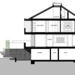 Schnitt. Zeichnung: Architekten Fuchs, Wacker