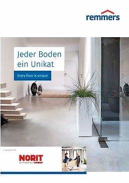 Broschüre für Bodenbeläge. Bild: Remmers