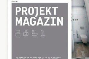 Duravit Projekt Magazin. Bild: Duravit