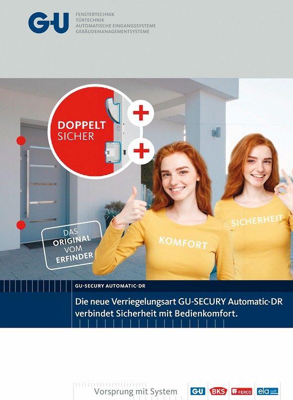 Gretsch-Unitas Broschüre, Cover