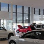 Schauraum Autohaus, Eingangsbereich