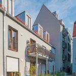 Innenhof mit Freiflächen und Balkonen Bild: Schlagmann Poroton, Ole Ott