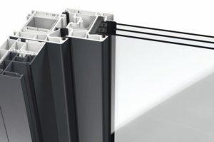 Fensterrahmen/Dichtungssystem