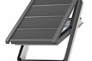 Dachfenster mit Sonnenschutz. Velux Deutschland GmbH