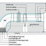 Der Einbau der Kühlrohre erfolgt zwischen oberer und unterer Bewehrung