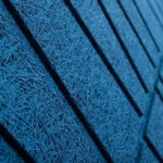 Plattenbearbeitung mit Effekt von Schattenfugen