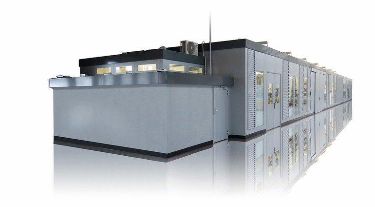 Schallschutzkabine Sonex K von G+H Noise Control