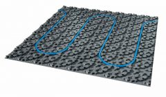 Energiesparende Elektro-Fußbodenheizung