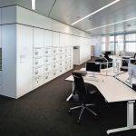 Büroraum in der Hypovereinsbank München. Bild: HGEsch Photography