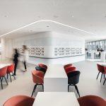 Cafeteria der Hypovereinsbank München. Bild: HGEsch Photography