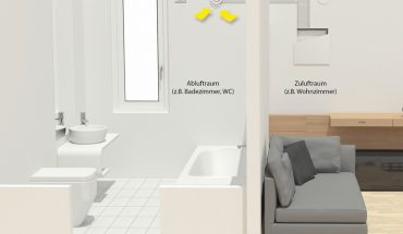 Dezentrales Lüftungsgerät von Meltem. Bild: Meltem