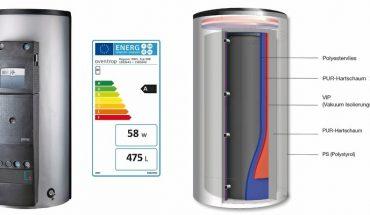 Energiespeicher-Zentrale verteilt und speichert Warmwasser effizient. Bild: Oventrop