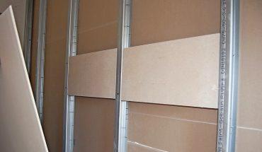 DIN 4103-1 bzw. DIN 18183–1: Lastenbefestigung an Trockenbauwänden