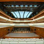 Der große Konzertsaal im Musikforum Bochum bietet rund 1000 Zuhörern Platz. Bild: Schörghuber