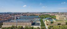 Klinkerfassade für neuen Hauptsitz der flämischen Regionalregierung. Bild: Filip Dujardin   Neutelings Riedijk Architects